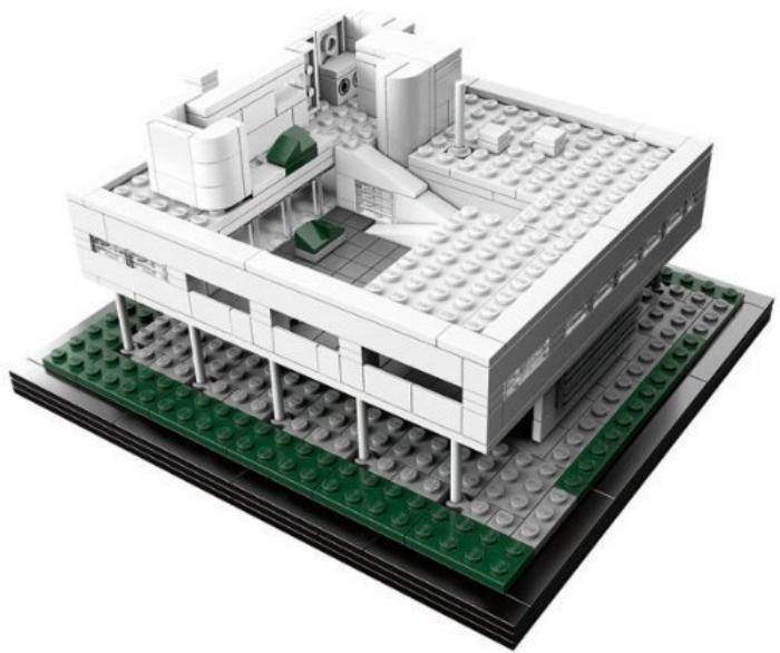 LEGO VILLA SAVOYE / VIA AMAZON