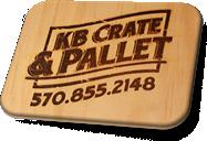 KB Create & Pallet Logo