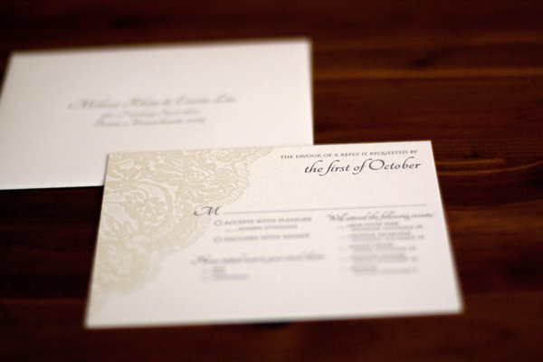 Melissa Invite