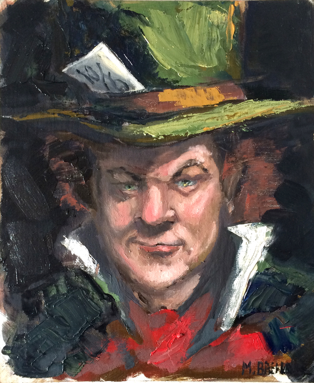 John C Reilly as Mad Hatter