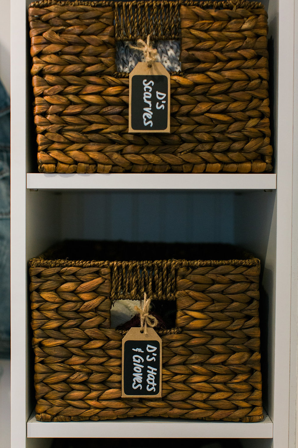 Mudroom baskets-Sadie Road