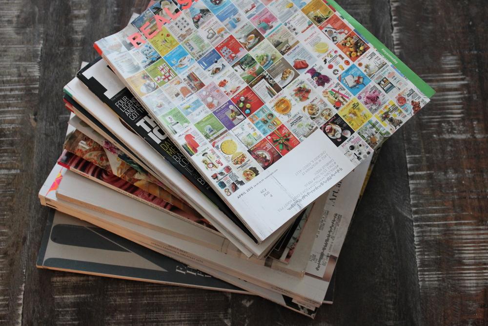 magazine pile-Sadie Road