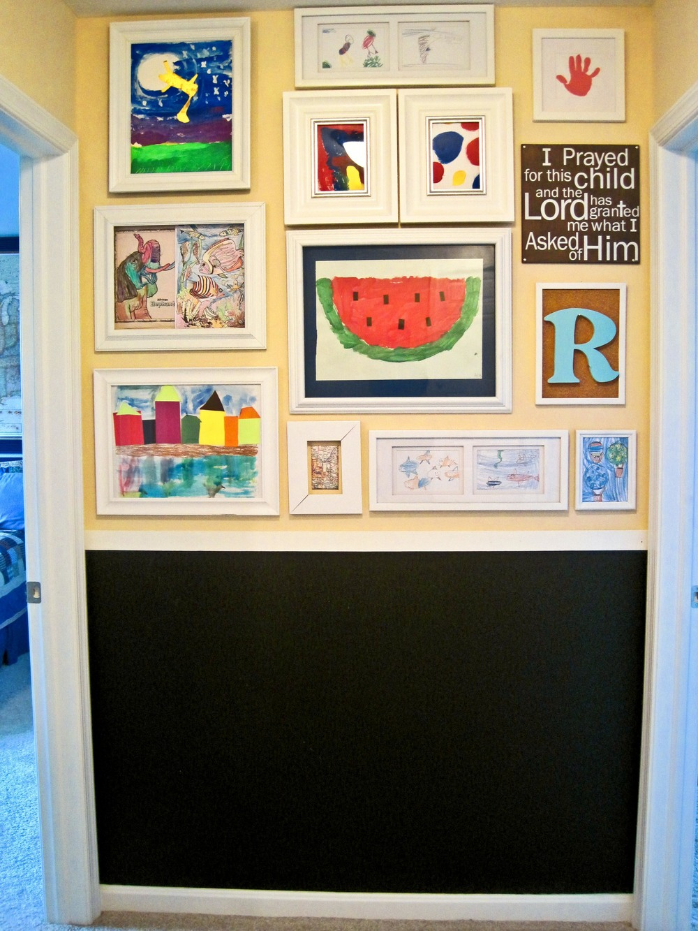 Artwork gallery wall-Sadie Road