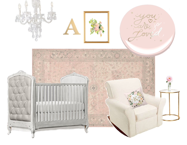 Sadie Road Nursery Design Board