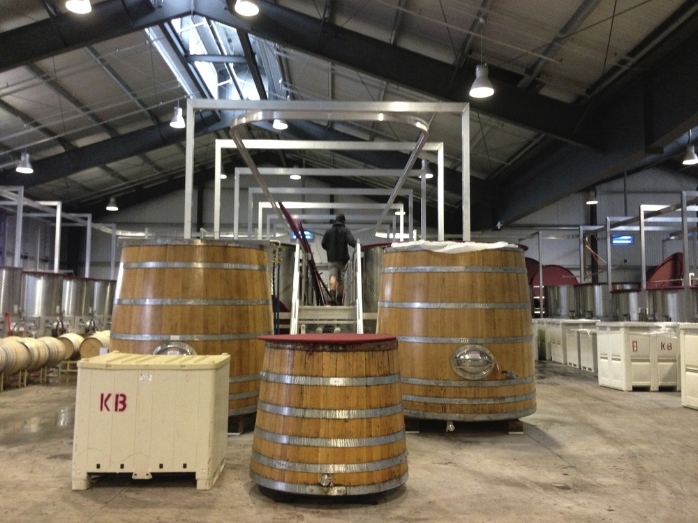 Fermentation barrels and tanks