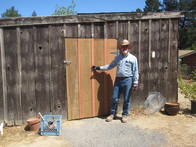 The new barn door