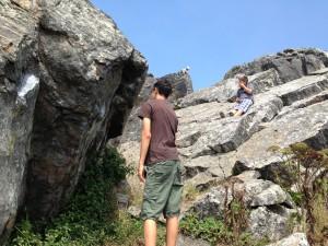 ClimbingSunsetBoulders