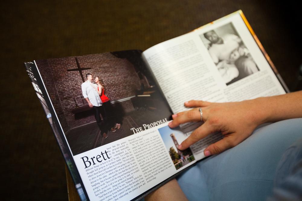 Brett and Caroline's Engagement Documentary Book by Organic Exposure - 2014