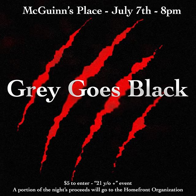 ONLY ONE DAY AND ONE MORE KICK ASS BAND TO BOAST ABOUT! GREY GOES BLACK IS GONNA BE HITTING THE FROST FEST 4 STAGE TOMORROW AND WE COULDN'T BE MORE PUMPED! #frostfest4 #frostedgreenproductions #mcguinnsplace #greygoesblack #newjersey @greygoesblack @mcguinnsplace