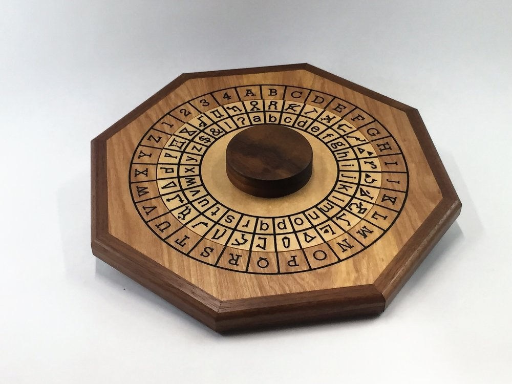 Cipher Wheel - Constellation - Maple - Low Angle.jpg
