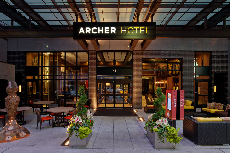 Photo Courtesy of Archer Hotel
