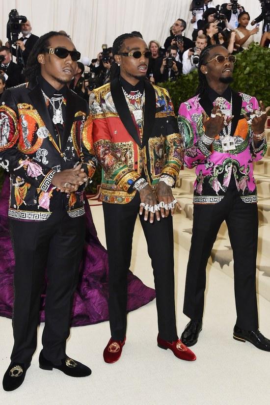 Migos in  Versace