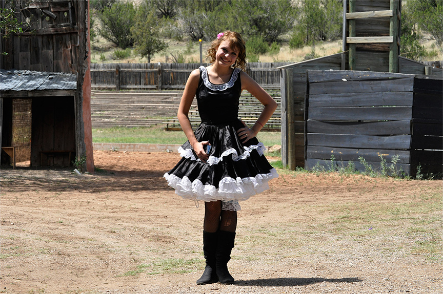 Dance Hall Gal, Billy the Kid Pageant