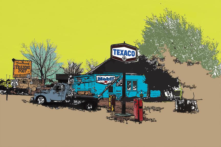 Construct #1, Tucumcari New Mexico
