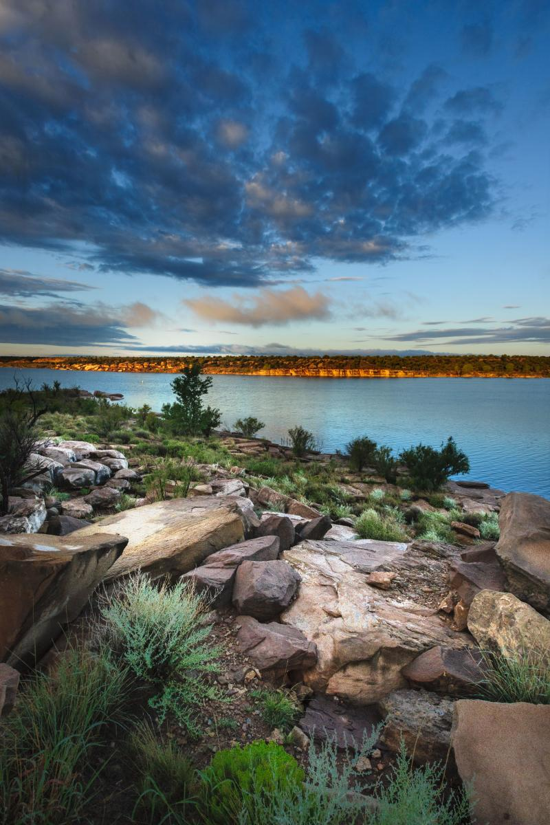 2nd Place New Mexico State Parks, 'Sunrise at Conchas, William Gardner
