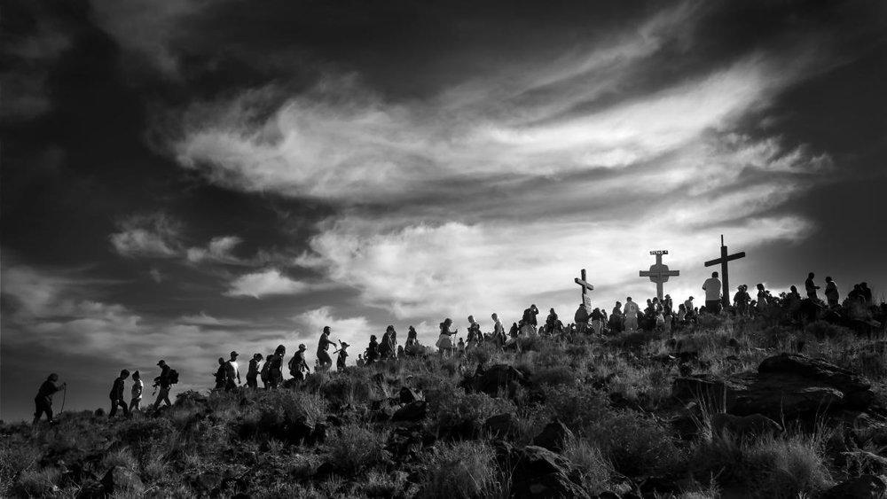 Grand Prize Winner, 'Pilgrimage to Tome' Hill', David Cushman