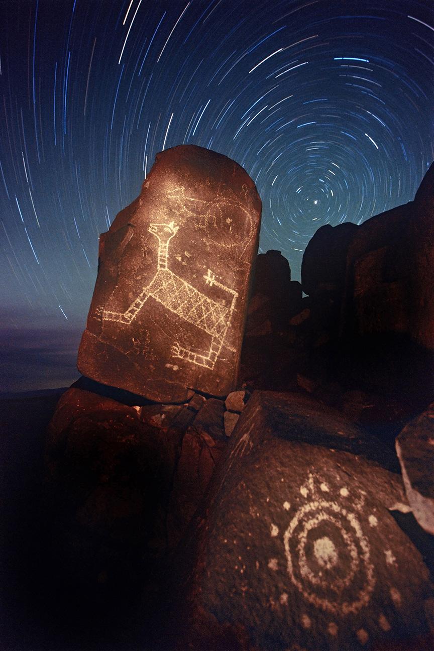 2nd Place Sense of Place, 'Ancient Messages', James Gale