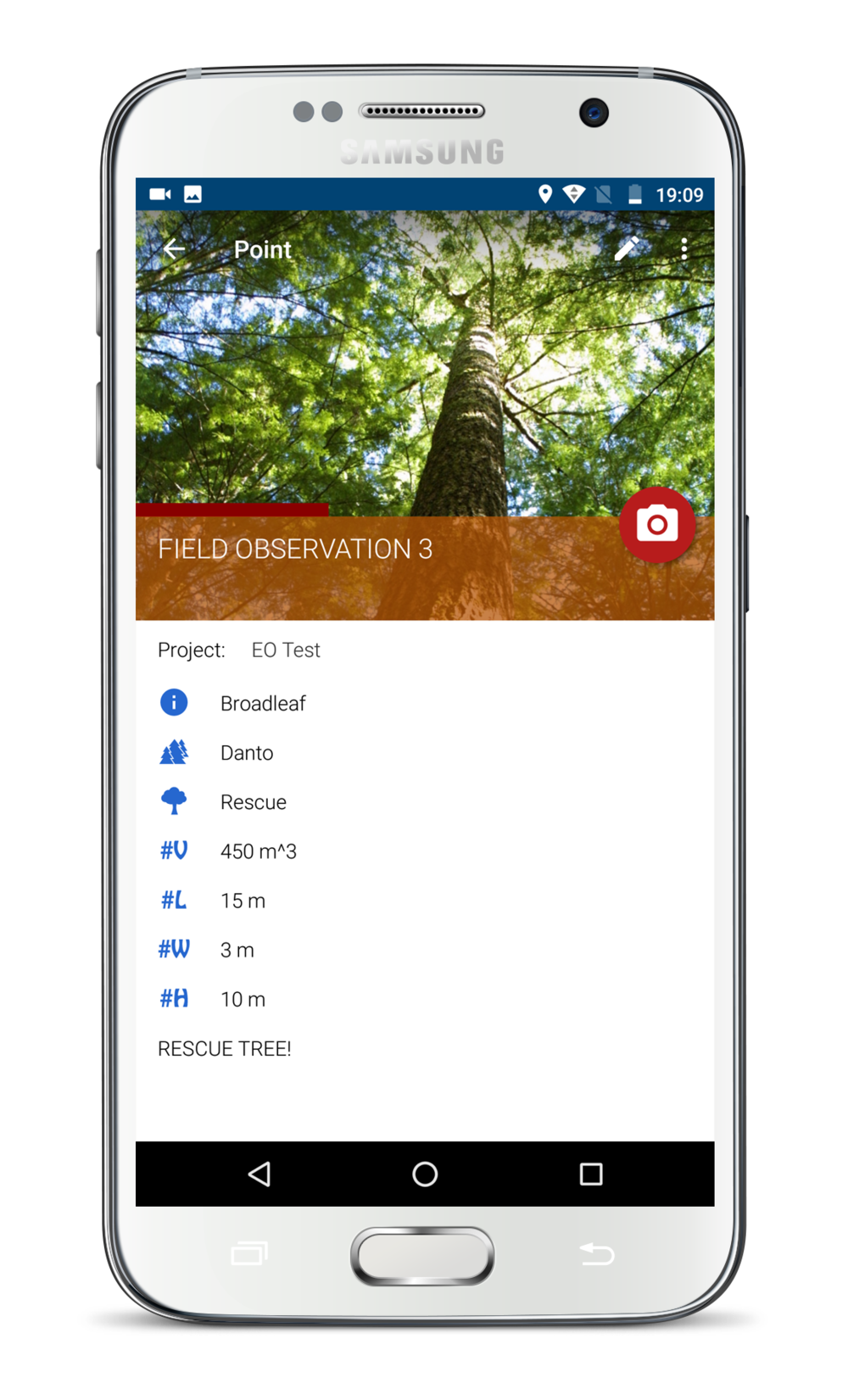 Improved Inventory - ►Registration of individual assets► Collect detailed information for each tree► Identity, time, date, location, photos► Tree species, quantity, volume► Building trust and accountability around the individual