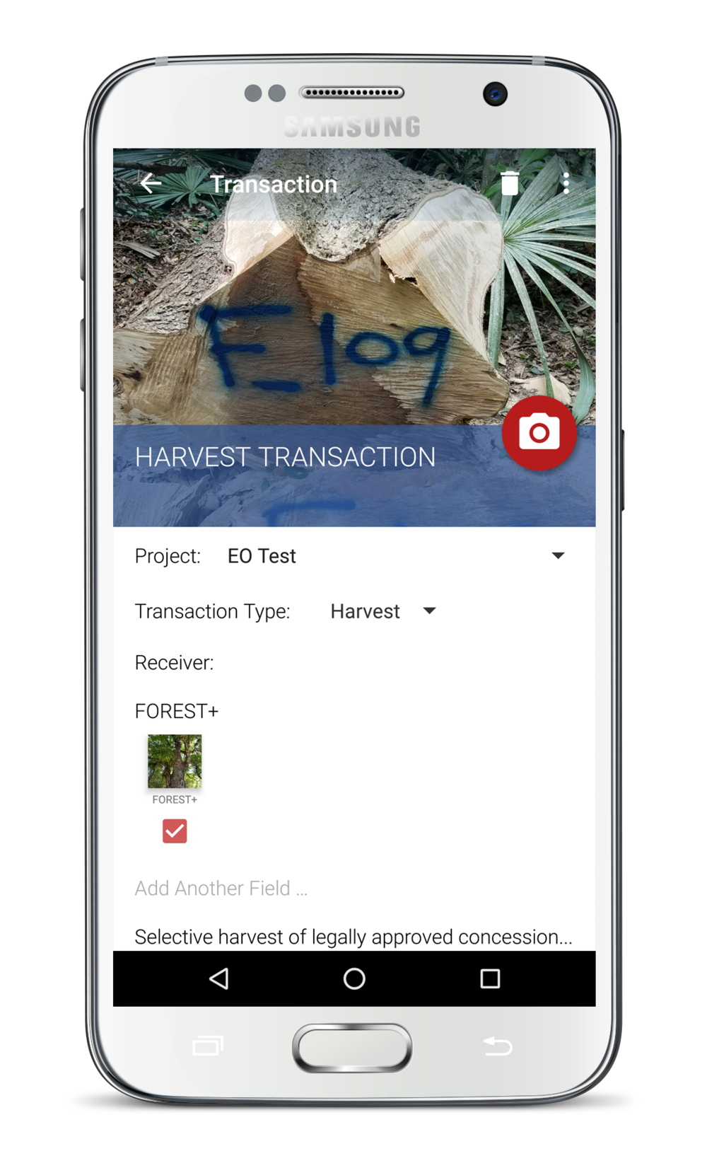 Detailed Harvests - ►Comprehensive harvest log and reports►Species, quantity, volume for every tree►Detailed record of users & activities►Increased transparency of information►Reduce the time & cost of harvest operations