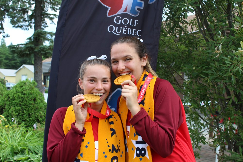 Frédéric et Catherine remportent la médaille d'or