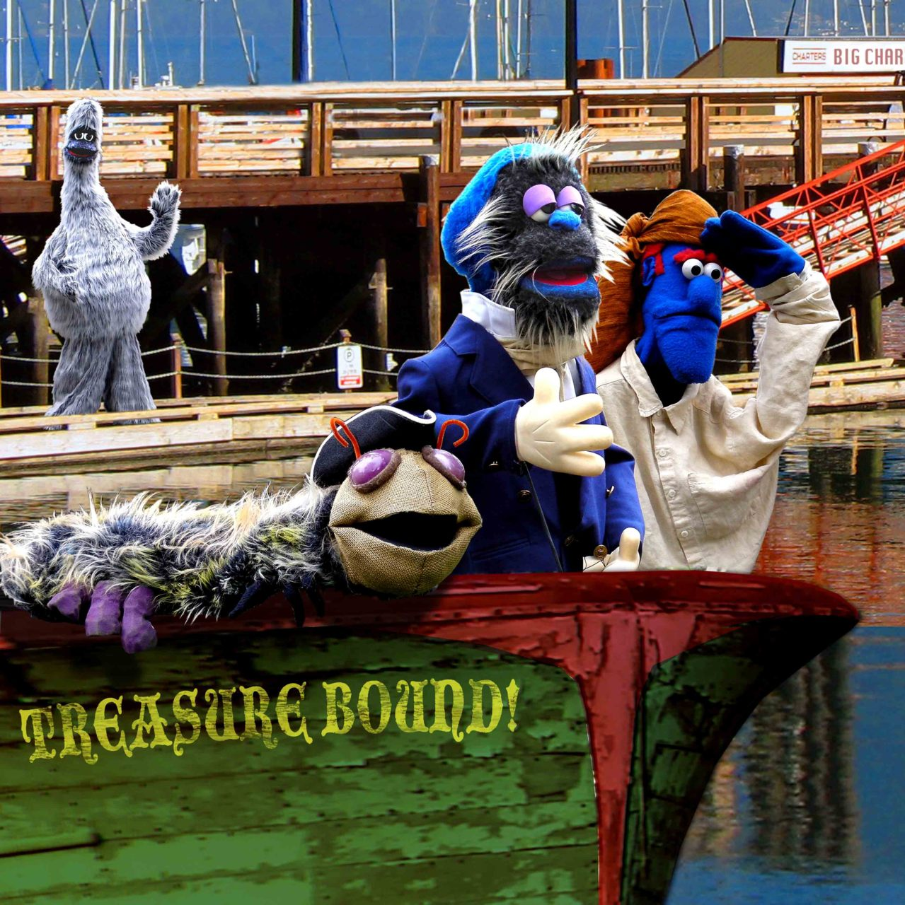 "If you are in Olympia, WA this weekend, head over to the Capitol Theater to see ""Treasure Bound"", an original puppet musical for the whole family! More details here."