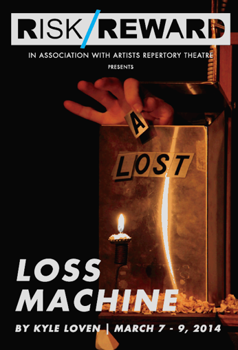 Portlanders - be sure to catch Kyle Loven's show,  LOSS MACHINE , next week at Artists Reperatory Theatre. March 7-9 only.  It's his Portland debut with this show and it's really something special.   TICKETS HERE!    DON'T YOU DARE MISS IT!