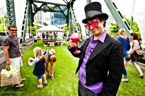 Hey Puppeteers/Performers!  Looking for a fun way to volunteer your talents and hang out on the grassy Hawthorne Bridge for a day? The PDX Bridge Festival is looking for performers, balloon-animal makers, puppeteers, photo booth folk, face-painters, acrobats and MORE to help make the Brunch on the Bridge a super fun event this year.  The festival will feature the World's Largest Box of Donuts! Don't miss out.  Click here for more details about the festival and email katie@beadylittleeyes.com as soon as possible if you would like to spend the day with us on Saturday, August 6th.