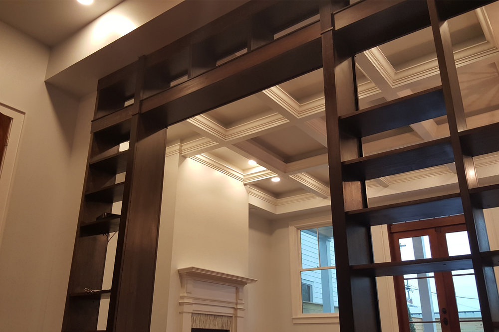 New Orleans Bookcases and Built Ins