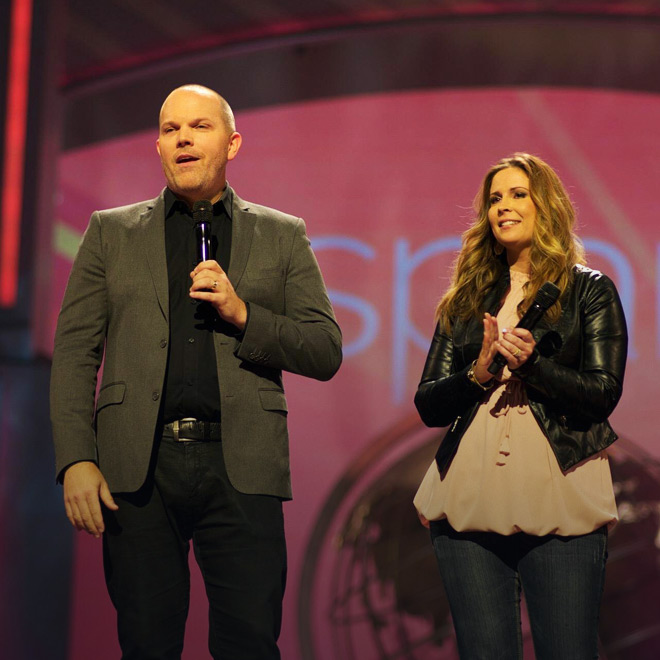 Clayton & Ashlee Hurst Marriage Directors at Lakewood Church