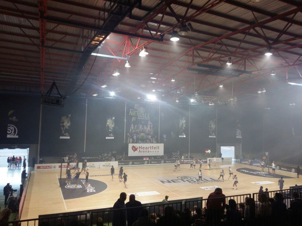 Heartfelt Arena Brutal Fruit Netball Premier League