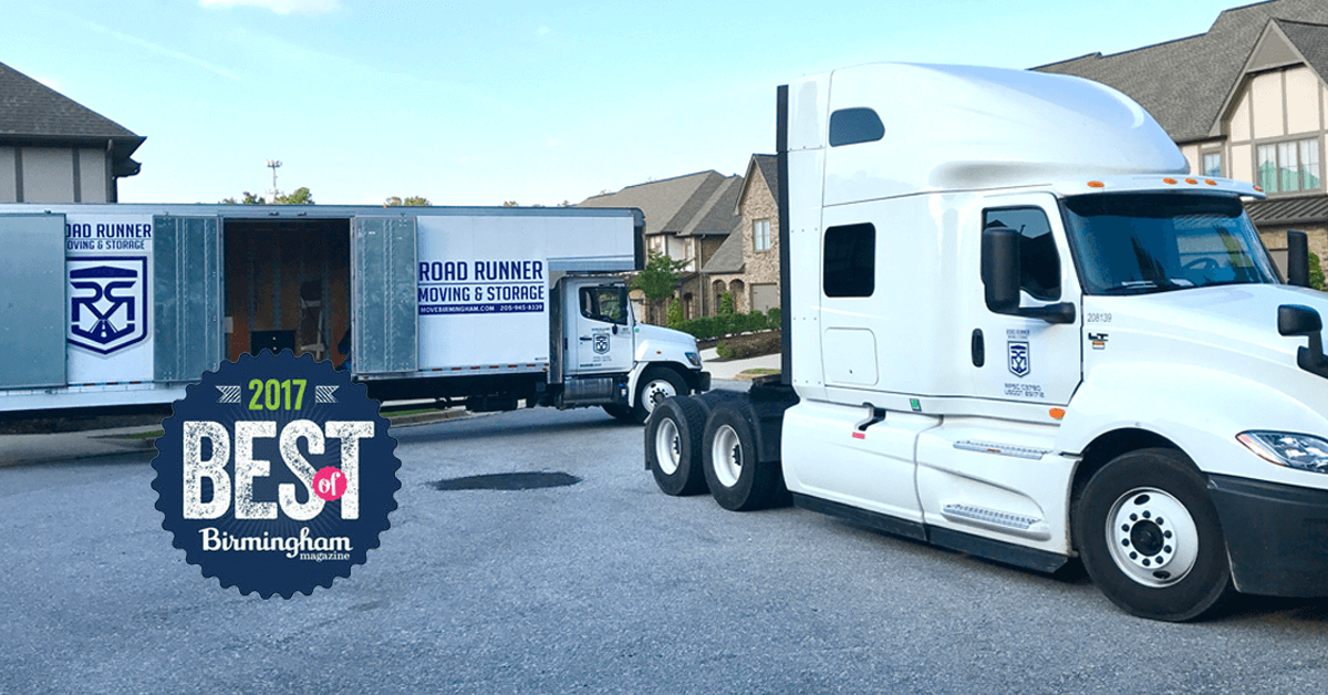 Road Runner Moving Storage Birmingham Movers Since Trust - Pool table movers birmingham al