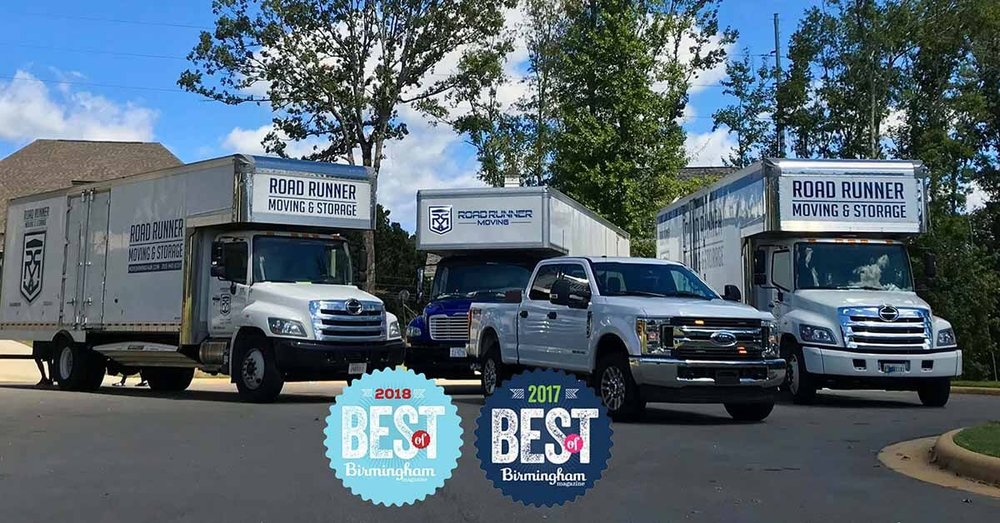 ROAD RUNNER MOVING AND STORAGE 2019 MOVING TEAM.