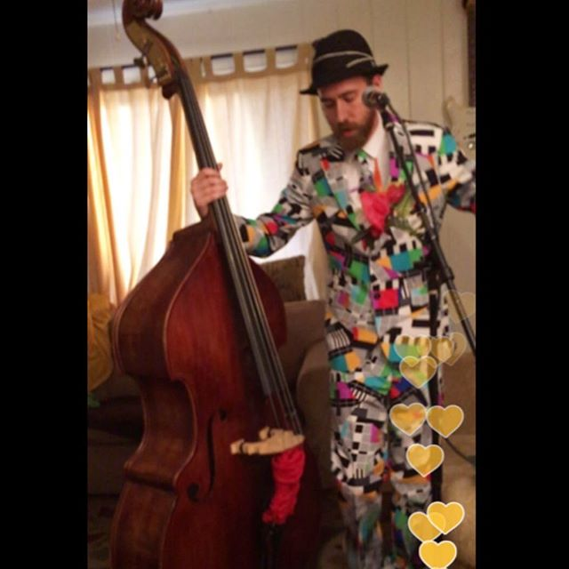 GO TO PERISCOPE RIGHT NOW and watch this live vid I just did. Mostly improvised and clowning. Nothing pre recorded. Enjoy it DELETES IN LESS THEN 22 HOURS. Follow and tap the screen for hearts. Love you. Thank you. I'm under: Dream Upright #uprightbass #dreamupright #periscope #now #hurry #musician #live #improve #clown #love #joy #laugh #humble #playful #magic #colors #tap #surrealism #periscope tv #future #positive