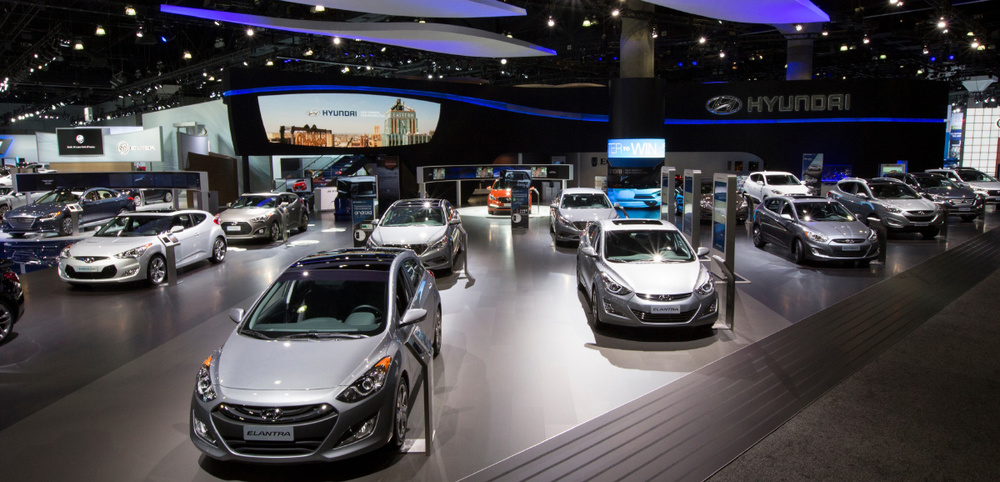 2014 Los Angeles International Auto Show – Hyundai Display Booth