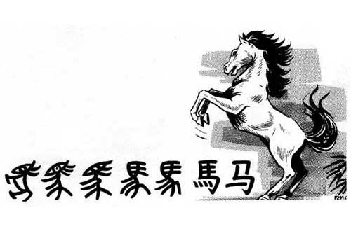 Chinese Characters Evolution Evolution of Chinese