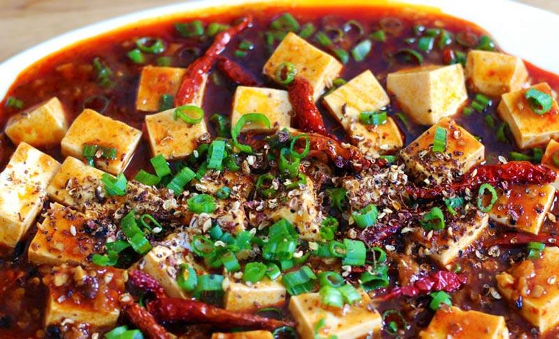 Mapo Bean Curd (Mapo Tofu)