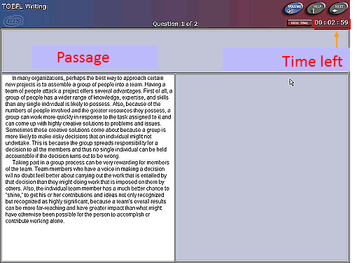 Toefl Essay  screenshot