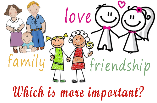 Friendship is the most important relationship in life