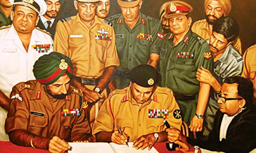 Pakistani Instrument of Surrender (16 December 1971)