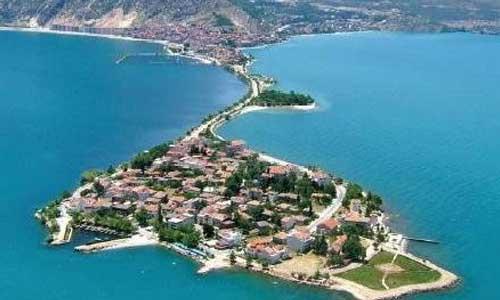 Isparta Eğridir Lake