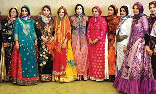 Each one of these type of clothing belongs to a specific ethnic group.