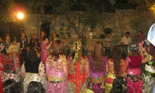 Kurds wedding