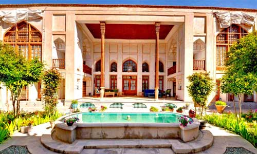 Bekhradi HistoricaL House, 400 years old. Isfahan, Iran.