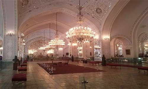 Talare Ayene, Golestan Palace , Tehran. Iran.
