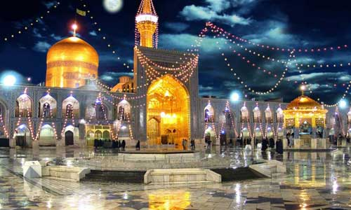 Imam Reza shrine, Mashhad, east of Iran.