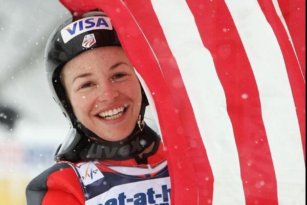 Olympic ski jumper Lindsey Van.