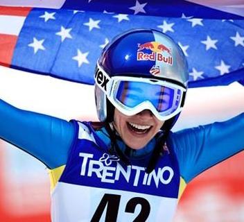 Olympic ski jumper Sarah Hendrickson.