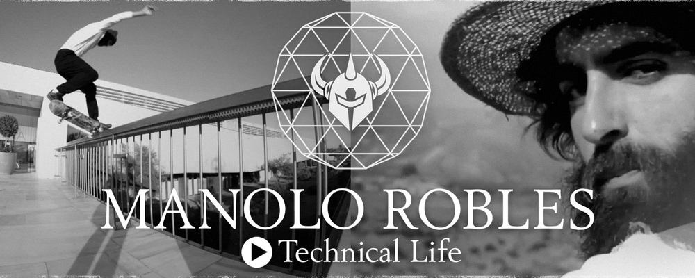 Darkstar Skateboards Manolo Robles Technical Life