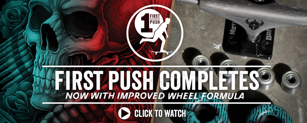 Darkstar Skateboards First Push Completes Now With Improved Formula