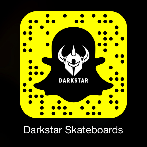 Darkstar Skateboards is on SnapChat ghost code